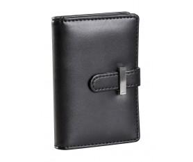 Футляр для пластиковых карт или визиток, черный